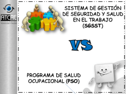 Comparativo Programa SO vs SST