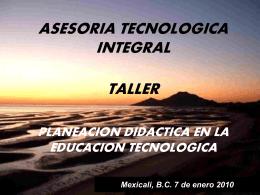 I.- IMPORTANCIA DE LA PLANEACIÓN DIDACTICA EN