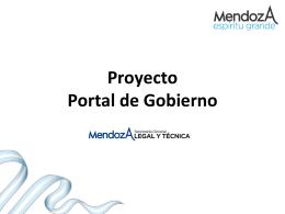 Presentación Proyecto Mendoza.Gob.Ar 20-08-2014