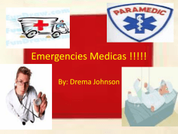 Emergencies Medicas !!!!!