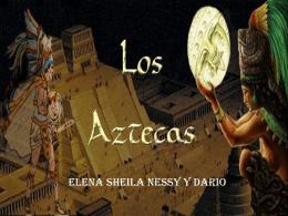LOS AZTECAS - viajando-en-el