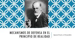 mecanismos de defensa en el principio de realidad