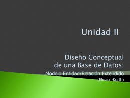 Unidad2_Modelo Entidad_Relacion - BasedeDatos-LSI-LCC