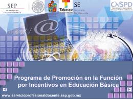Presentación 2 - Secretaría de Educación de Tabasco