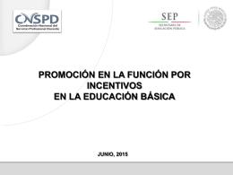 Nuevo ** Presentación De Promoción En La Función Por Incentivos