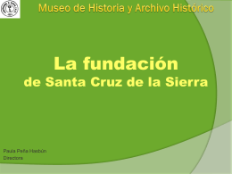 Museo de Historia y Archivo Histórico