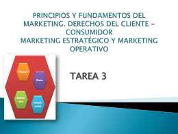 Principios y fundamentos del Marketing. Derechos del cliente