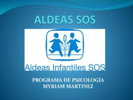 ALDEAS SOS - Webscolar