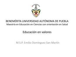 LIBRO EDUCACION EN VALORES.