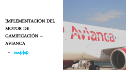 avianca - Hooptap