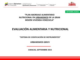 sistema de codificacion urbanismos gmvv (septiembre 04 2015)