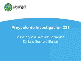 Presentación Reporte de la Propuesta del