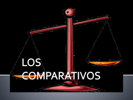 Comparisons - Spanish