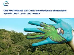 P11.a.Presentacion UICN -DFID-Dic 2012