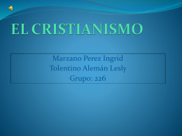 EL CRISTIANISMO *