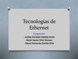 Tecnologías de Ethernet editada