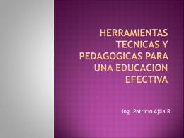 herramientas tecnicas y pedagogicas para una educacion efectiva (2)