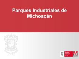 PORTADA Arial 44 pts - Michoacán destino de inversión