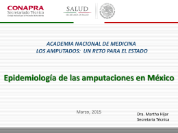 Presentación de PowerPoint - Academia Nacional de Medicina