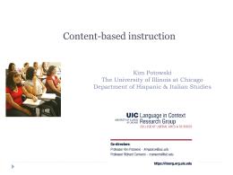 Workshop: Teaching Spanish to Heritage Speakers