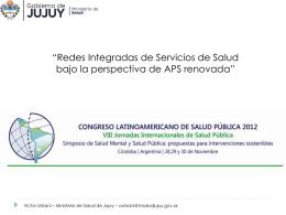 Experiencia Programa Remediar y Redes en Jujuy.