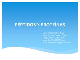 péptidos y proteínas - e