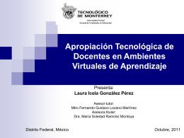 PresentaLaurafebrero2012 - Cátedra de investigación e