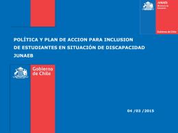Estudiantes en Situación de Discapacidad, desafíos para la inclusión