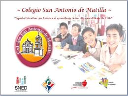 PDirector - Colegio San Antonio de Matilla
