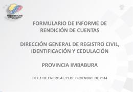 IMBABURA Informe Final