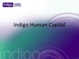 Indigo Human Capital