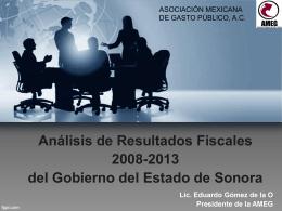 Resultados Fiscales Sonora 2008-2013