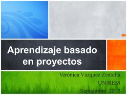 Aprendizaje basado en proyectos (APP)