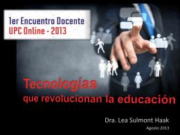 UUPC 2013-tecnologia