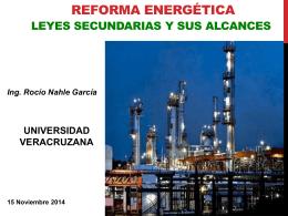 Reforma Energética – Leyes Secundarias