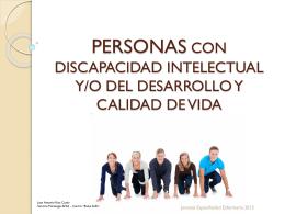 Personas con discapacidad intelectual o del desarrollo y calidad
