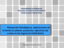 Proyecto Final: Planeamiento Estratégico