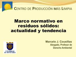 Exposición del Dr. Marcelo Cousillas