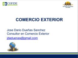 Comercio Exterior - José Dueñas