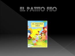 EL PATITO FEO PORTADA