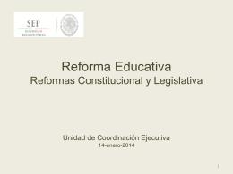 Reforma Educativa Reunión Delegados-UCE