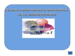 Diapositiva Escuela Cuantitativa (108842) - ninigarcia-cur