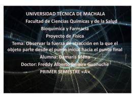 DIAPOSITIVAS FISICA - Universidad Técnica de Machala