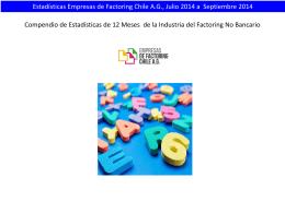 Presentación de PowerPoint - Empresas de Factoring Chile AG