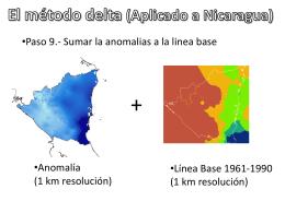 Conferencia: El método delta (Aplicado a Nicaragua)