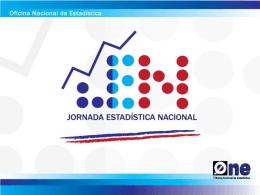 Diapositiva 1 - Oficina Nacional de Estadística (ONE)