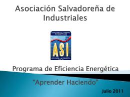 Asociación salvadoreña de industriales - Bun-CA