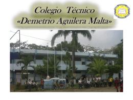 Colegio Nacional Técnico Dr. «Demetrio Aguilera Malta»