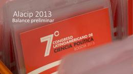 Alacip 2013