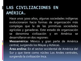 las_civilizaciones_en_américa